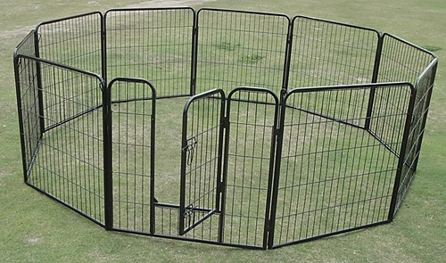 Marvelous 10 X Extra Large Tall Panel Pet Dog Exercise Pen Enclosure Portable Crate  Cage