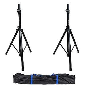Tripod DJ PA Speaker Stand Set with Carry Bag