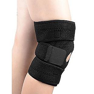 Fully Flexible Adjustable Knee Support Brace