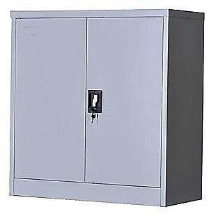 Two-Door Shelf Office Gym Filing Storage Locker Cabinet Safe