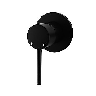 Shower Bath Mixer Tap WATERMARK Approved Electroplated Matte Black