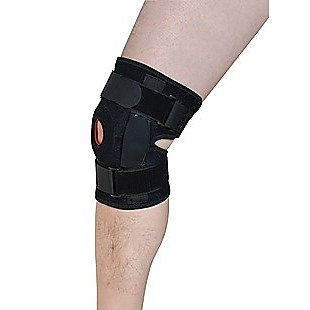 Hinged Knee Brace Support ~ ACL MCL ligament Runner's Knee