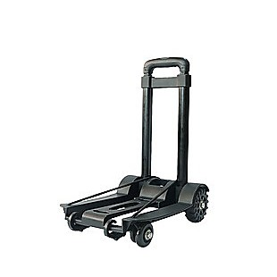 Portable Cart Folding Dolly Push Truck Hand Collapsible Trolley Luggage 70Kg