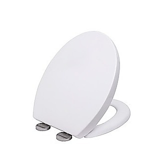 Quick Release Soft Close Toilet Seat White Bathroom Heavy Duty