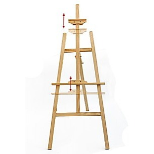 Pine Wood Easel Artist Art Display Painting Shop Tripod Stand Wedding