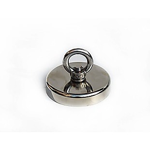 400Kg Salvage Strong Recovery Magnet Neodymium Hook Treasure Hunting Fishing
