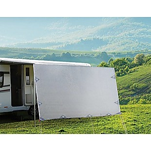 4.3m Caravan Privacy Screen Side Sunscreen Sun Shade for 15' Roll Out Awning