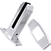 4 x Frameless Pool Glass Fencing Clamps Spigots