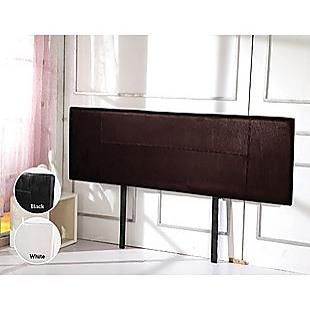 PU Leather King Bed Headboard Bedhead - Brown