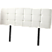 PU Leather King Bed Deluxe Headboard Bedhead - White
