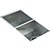820x457mm Handmade Stainless Steel Undermount / Topmount Kitchen Laundry Sink with Waste