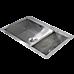 745x505mm Handmade Stainless Steel Topmount Kitchen Sink with Waste