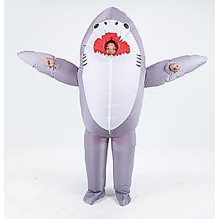 Shark Fancy Dress Fan Inflatable Costume  Suit