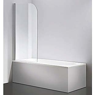 180° Pivot Door 6mm Safety Glass Bath Shower Screen 800x1400mm By Della Francesca