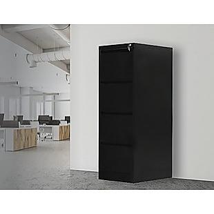 4-Drawer Shelf Office Gym Filing Storage Locker Cabinet