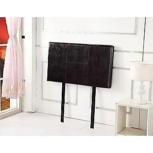 PU Leather Single Bed Headboard Bedhead - Brown