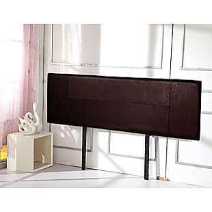 PU Leather King Bed Headboard Bedhead - Brown