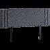 Linen Fabric King Bed Deluxe Headboard Bedhead - Grey