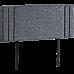 Linen Fabric Double Bed Deluxe Headboard Bedhead - Grey