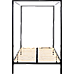 4 Four Poster Queen Bed Frame