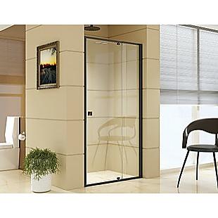 Adjustable Semi Frameless Shower Screen (98~106) x 195cm Australian Safety Glass
