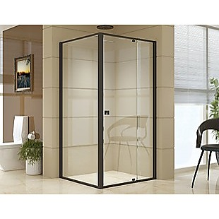 Semi Frameless Shower Screen (98~106)x 195cm & (89~92)x 195cm Side AS/NZS Glass
