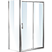 1200 X 700 Sliding Door Safety Glass Shower Screen By Della Francesca