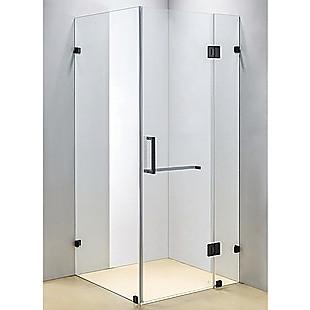 1000 x 1000mm Frameless 10mm Glass Shower Screen By Della Francesca