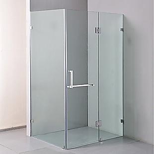 1200 x 900mm Frameless 10mm Glass Shower Screen By Della Francesca
