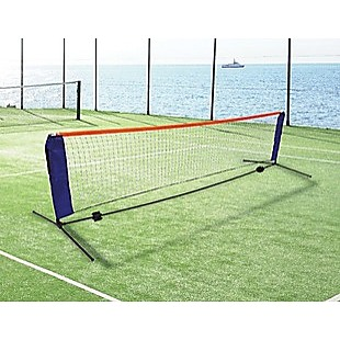 6 Meters Portable Foldable Mini Tennis Net & Post Set