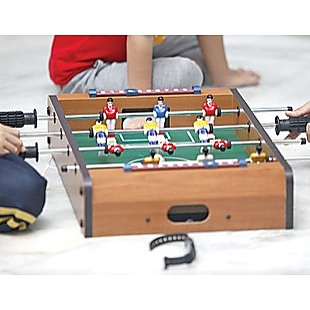 Foosball Games Soccer Table Kids Portable Toy Gift