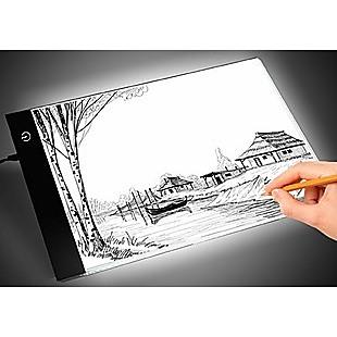 A4 LED Light Box Tracing Board Art Design Stencil Tattoo Copy Drawing Pad