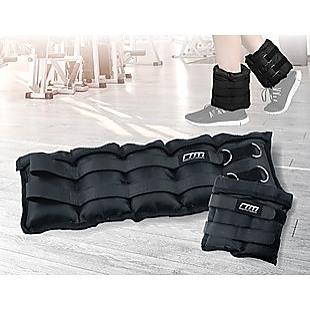 10kg Adjustable Ankle/Wrist Weight Straps
