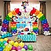 3x4m Full Set Balloon Arch Column Kit Floor Base Stand For Wedding & Party