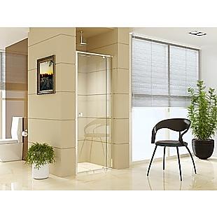 Adjustable Semi Frameless Shower Screen (74~82) x 195cm Australian Safety Glass