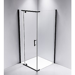 Shower Screen 900x800x1900mm Framed Safety Glass Pivot Door By Della Francesca