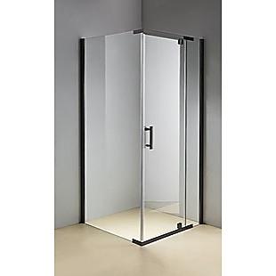 Shower Screen 1000x1000x1900mm Framed Safety Glass Pivot Door By Della Francesca