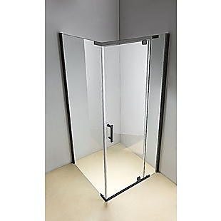 Shower Screen 1000x700x1900mm Framed Safety Glass Pivot Door By Della Francesca