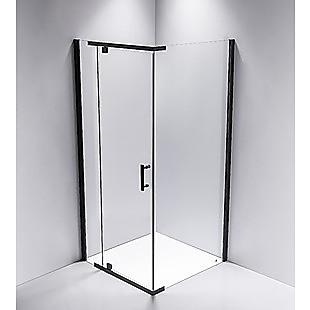 Shower Screen 1000x800x1900mm Framed Safety Glass Pivot Door By Della Francesca