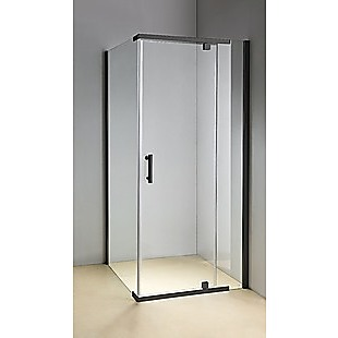 Shower Screen 1200x800x1900mm Framed Safety Glass Pivot Door By Della Francesca