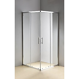 900 x 1000mm Sliding Door Nano Safety Glass Shower Screen By Della Francesca