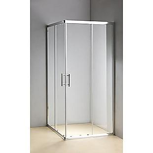 1000 x 800mm Sliding Door Nano Safety Glass Shower Screen By Della Francesca