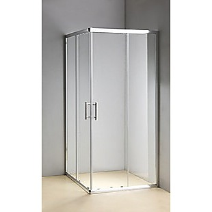 1000 x 900mm Sliding Door Nano Safety Glass Shower Screen By Della Francesca