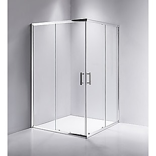 1000 x 1000mm Sliding Door Nano Safety Glass Shower Screen By Della Francesca