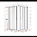 1000 x 1000mm Sliding Door Nano Safety Glass Shower Screen By Della Francesca