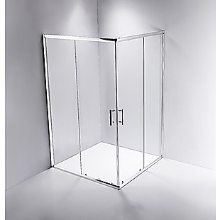1200 x 900mm Sliding Door Nano Safety Glass Shower Screen By Della Francesca