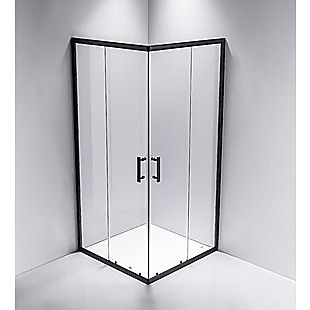 800 x 1000mm Sliding Door Nano Safety Glass Shower Screen By Della Francesca