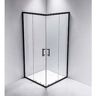 900 x 900mm Sliding Door Nano Safety Glass Shower Screen By Della Francesca