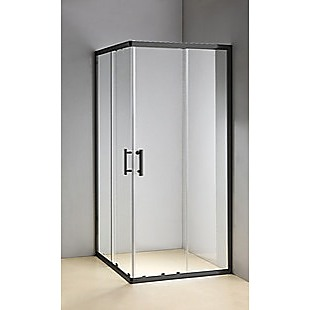 1000 x 800mm Sliding Door Nano Safety Glass Shower Screen By Della Francesca