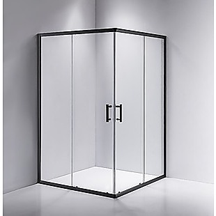 1200 x 800mm Sliding Door Nano Safety Glass Shower Screen By Della Francesca